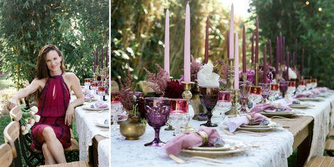 Inside Juliette Lewis's Dreamy Al Fresco Dinner Party