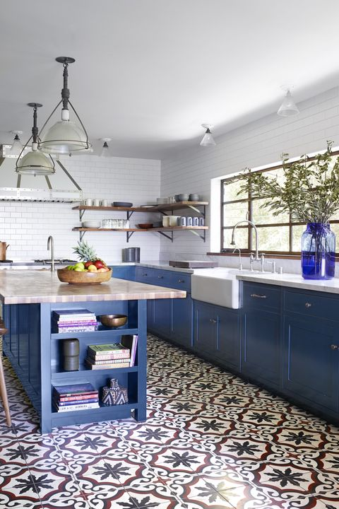 40 Blue Kitchen Ideas - Lovely Ways to Use Blue Cabinets and ...