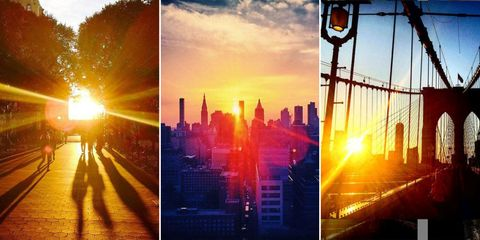 10 Incredible Views of New York City's Most Dramatic Sunset
