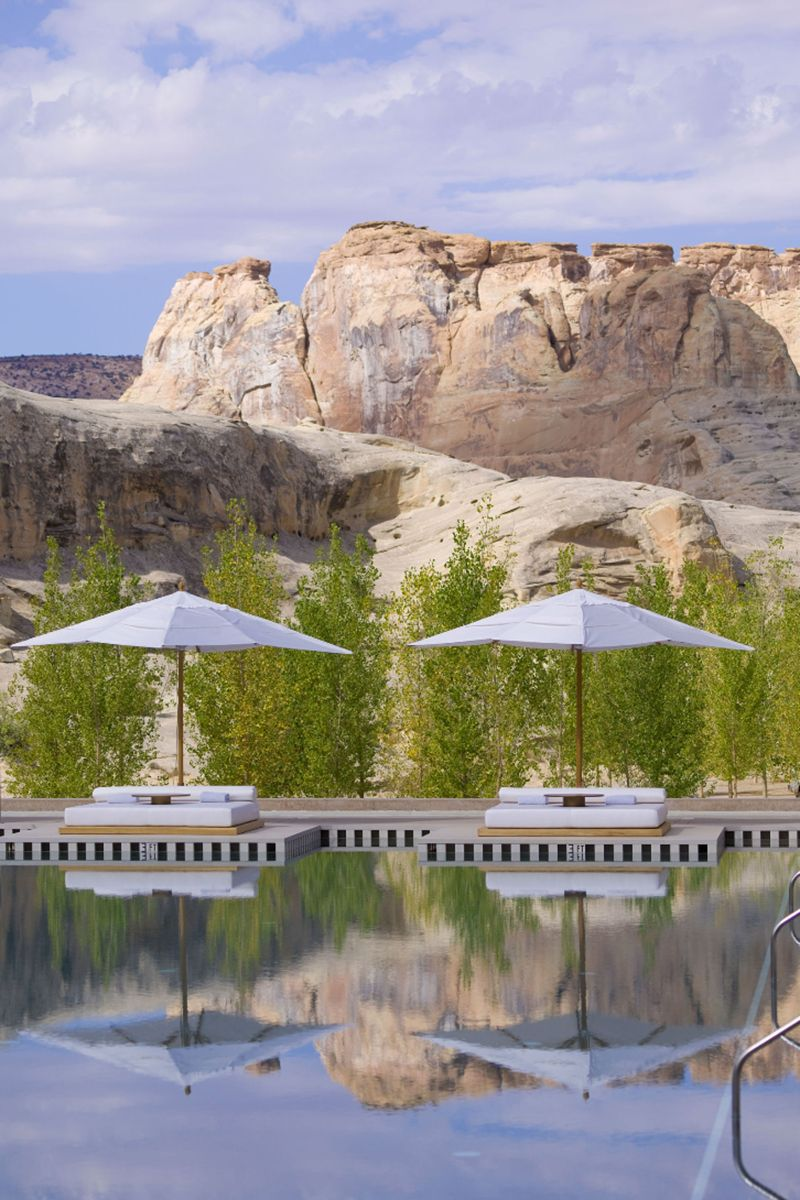 <p><strong>Where: </strong>Canyon Point, Utah</p><p><strong>Why: </strong>Located on an expanse of wilderness, the views are spectacular and the spa is world-class.</p>
