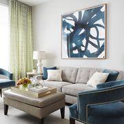 Blue, Room, Interior design, Floor, Green, Living room, Wall, Furniture, Home, Flooring,