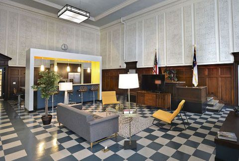 Inside A 119 Year Old Courthouse Turned Apartment Complex