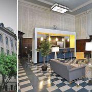 Lighting, Interior design, Room, Floor, Ceiling, Flooring, Interior design, Real estate, Light fixture, Tile,