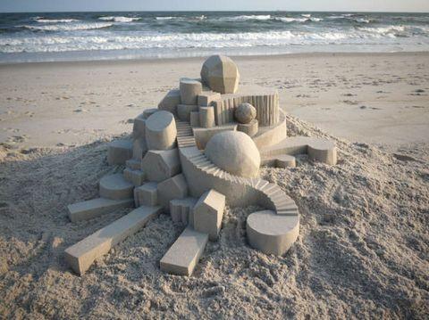 Coastal and oceanic landforms, Sand, Shore, Beach, Coast, Building sand castles, Ocean, Wind wave, Building material, Wave,