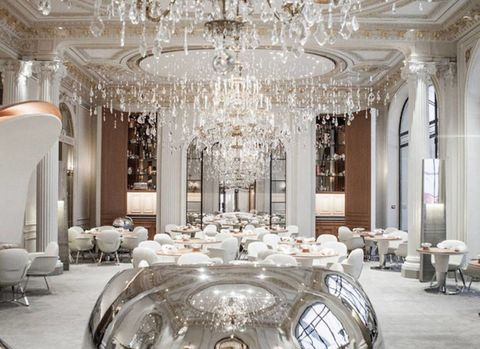 Inside A Paris Restaurant With Sparkle To Spare