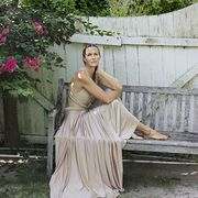 Gown, One-piece garment, Photo shoot,
