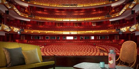 Opera house, Stage, Theatre, Concert hall, Hall, Amber, heater, Performing arts center, Music venue, Auditorium,