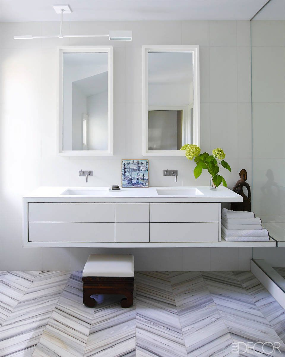 White bathrooms ideas - 25 White Bathroom Design Ideas Decorating Tips For All White Bathrooms