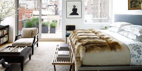 Room, Interior design, Floor, Furniture, Wall, Flooring, Home, Real estate, Interior design, Linens,