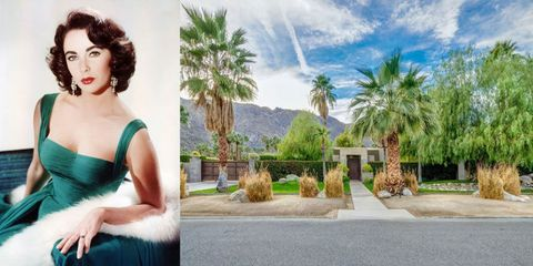 Spend The Night In Elizabeth Taylor's Palm Springs Home