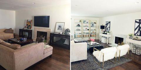 Wood, Room, Interior design, Living room, Floor, Wall, Furniture, Home, Display device, Flooring,