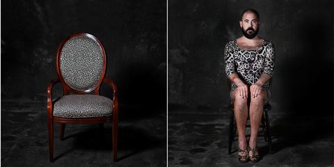 """How Chairs Would Look If They Were People"" Might Be The Weirdest Thing You'll See All Week"