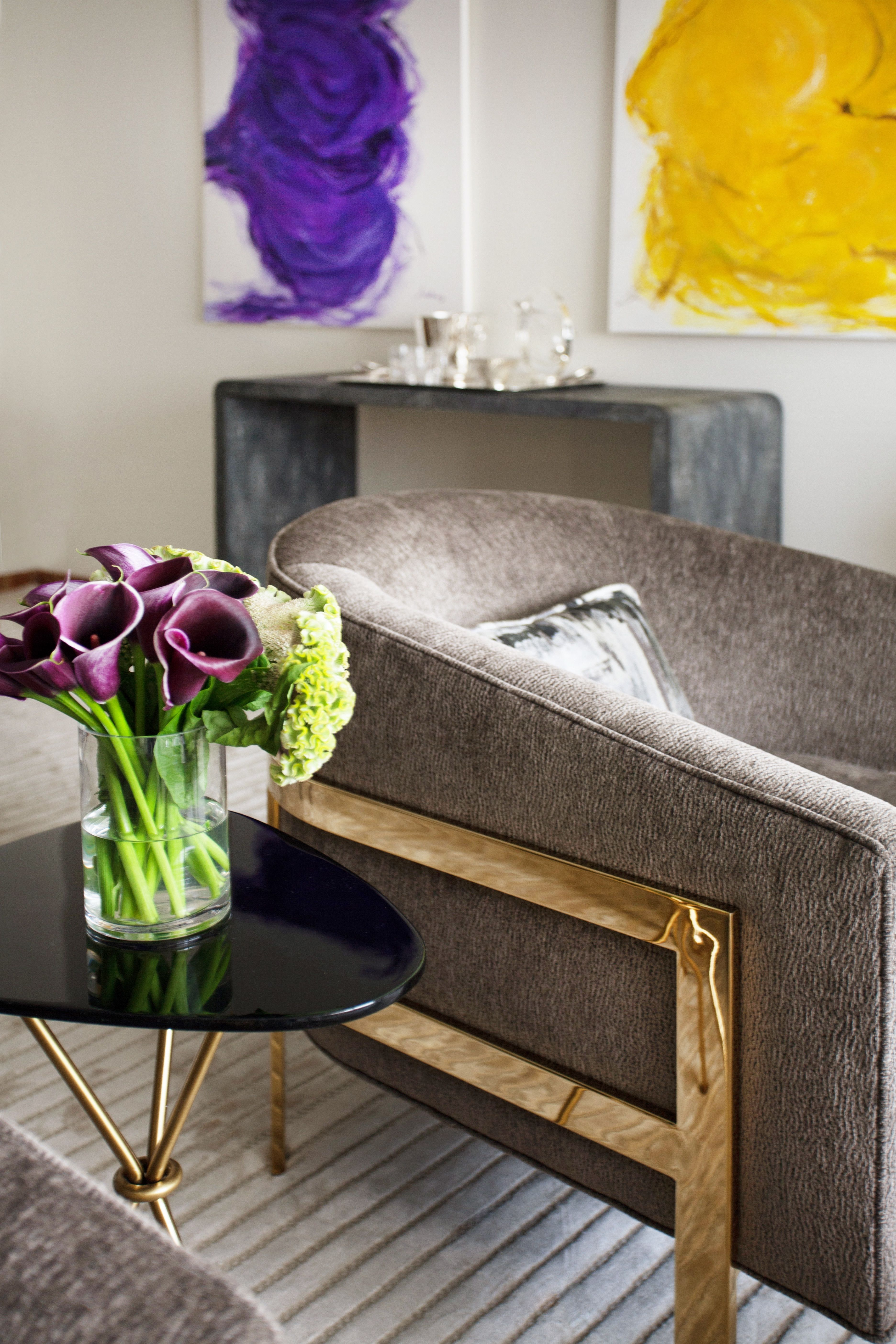 How To Decorate With Metallics – Without Going Over The Top