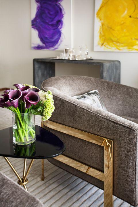 Room, Purple, Interior design, Violet, Flower, Petal, Lavender, Interior design, Bouquet, Magenta,