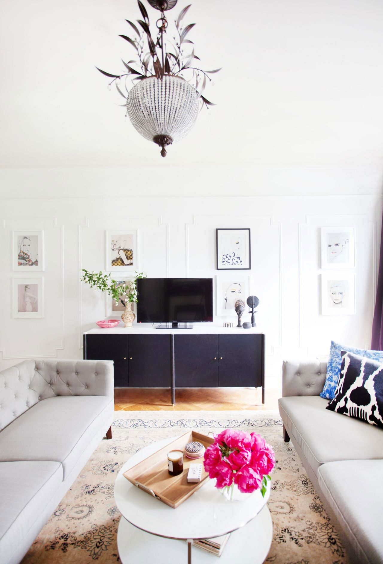 two sofas in small living room