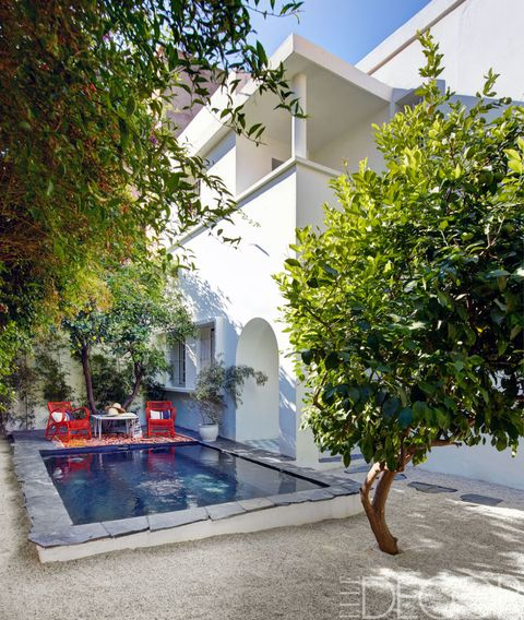 Architecture, Real estate, Water feature, Courtyard,