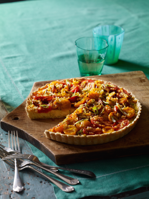 Paired to Perfection: Daniel Boulud's Corn and Heirloom Tomato Tart