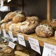Food, Ingredient, Bread, Cuisine, Baked goods, Bakery, Gluten, Small appliance, Staple food, Snack,