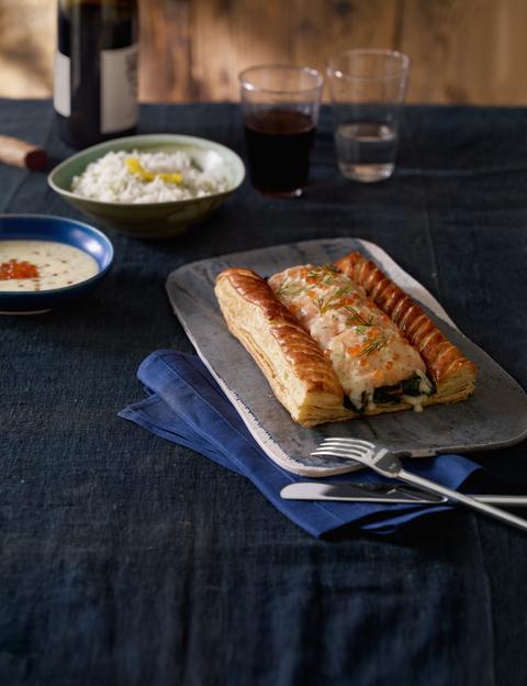 Daniel Boulud's Salmon Tarte