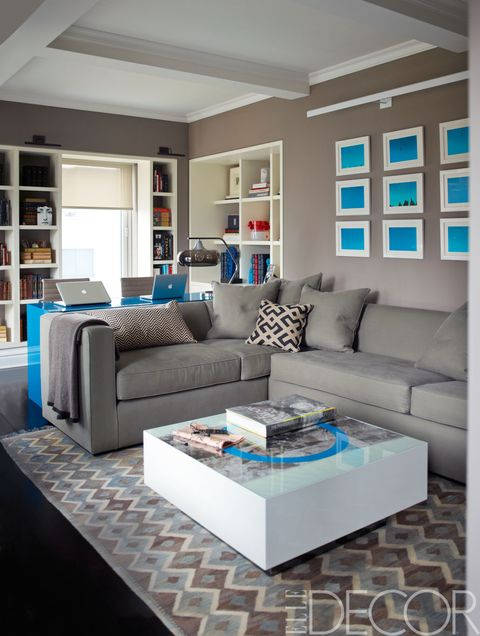 Blue, Room, Interior design, Floor, Living room, Green, Wall, Shelf, Home, Furniture,