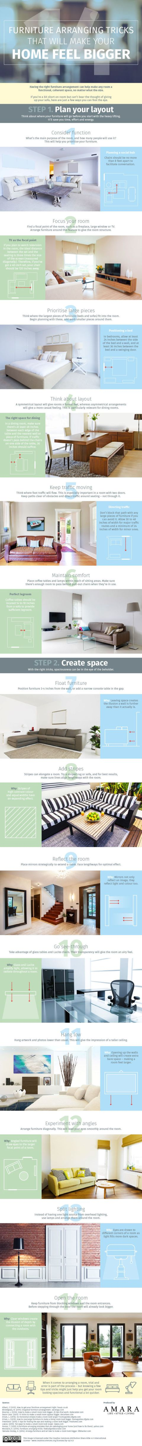 14 Furniture Arranging Tricks To Make Your Home Feel Bigger on office at home, litter at home, golf at home, shopping at home, internet service at home, floor at home, jewelry at home, art at home, security at home, cell phones at home, desk at home, table at home, internet connection at home, storage at home, cars at home, metalworking at home, landscaping at home,