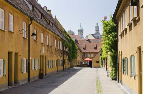 Inside A German Village Where Rent Hasn't Been Raised In Almost 500 Years
