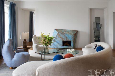 Blue, Room, Interior design, Living room, Property, Floor, Wall, Home, Flooring, Interior design,