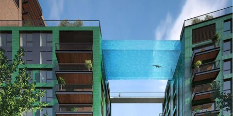 This Crazy Sky Pool Is Either Incredible Or Terrifying... Or Both