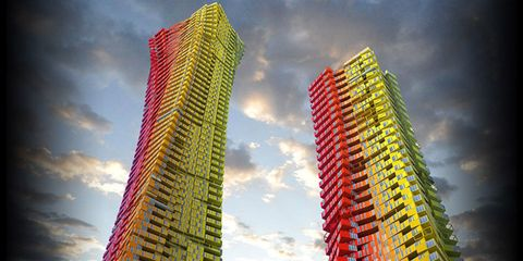 UPDATE: Urban Housing Could Be Getting A Colorful New Look