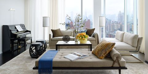 HOUSE TOUR: A New York Penthouse Shows The Cozy Side Of Modern Decor