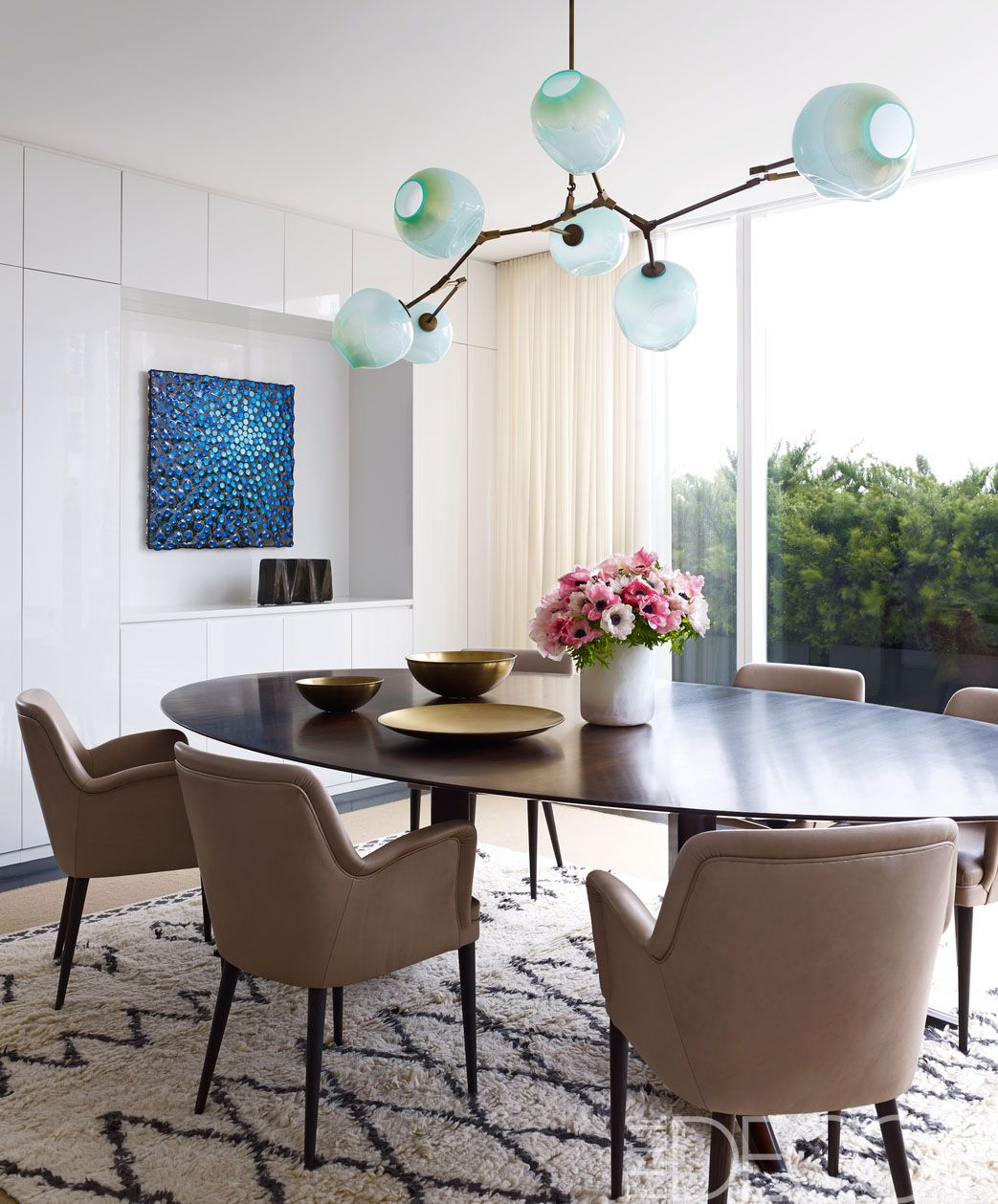 Stunning Contemporary Dining Room Tables Images Home Ideas Table Decorating