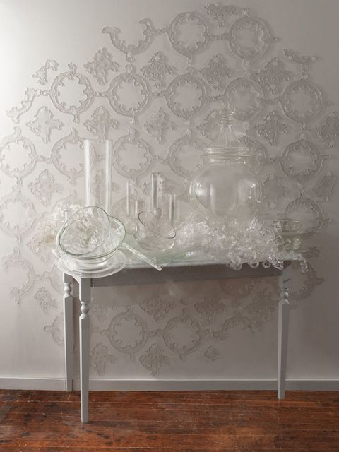 Wall, Grey, Silver, Wallpaper, Ornament, Natural material, Plaster,