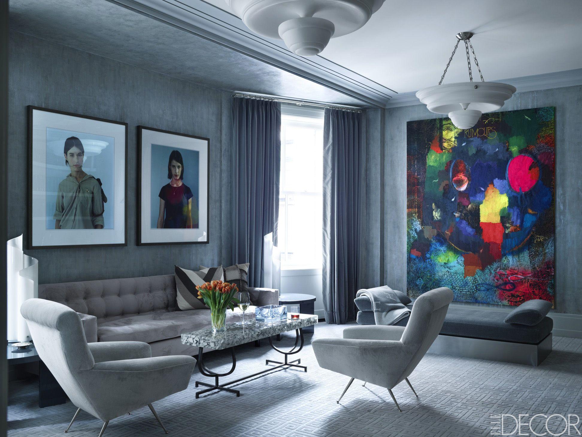 midcentury - living rooms