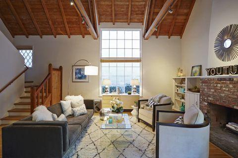 Wood, Room, Interior design, Window, Property, Floor, Hardwood, Ceiling, Home, Wall,