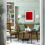 Room, Interior design, Shelf, Wood, Shelving, Bookcase, Furniture, Wall, Living room, Publication,
