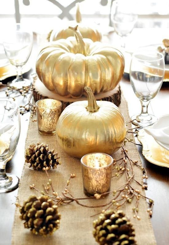15 easy fall centerpieces - fall table decorations