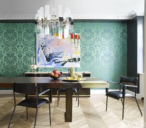 Interior design, Room, Floor, Flooring, Furniture, Table, Wall, Interior design, Teal, Turquoise,