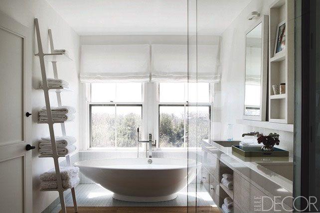 Elle Decor & 20 Bathroom Storage Shelves Ideas - Bathroom Shelving ...