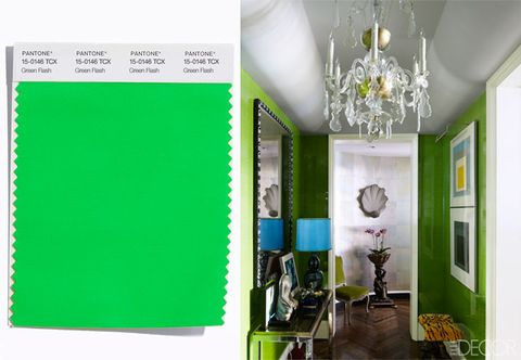 Green, Yellow, Room, Interior design, Ceiling, Light fixture, Ceiling fixture, Teal, Colorfulness, Interior design,