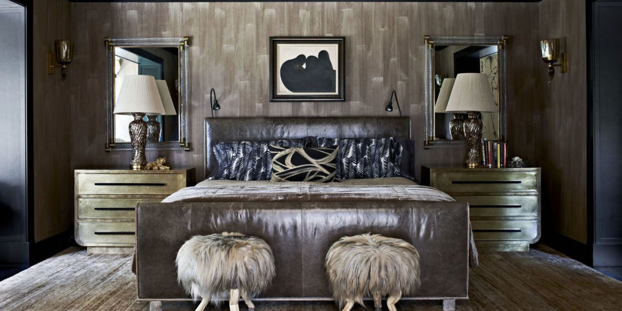 Great For A Couple On Mercer Island, Washington, Designer Kelly Wearstler  Conjures An Atmosphere Of Dark And Moody Glamour, Shot Through With Glints  Of Gold