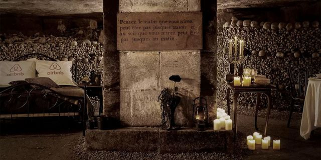 Scary Halloween Destinations – A Night Inside Paris's Catacombs