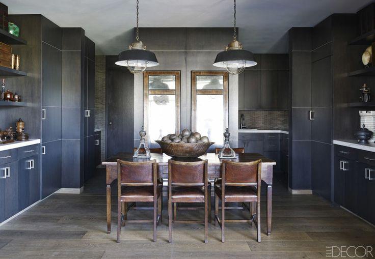 black kitchen design ideas  pictures of black kitchens  elle,Black Kitchens,Kitchen ideas