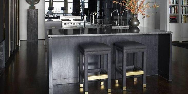 Black Kitchen Design Ideas Pictures Of Black Kitchens Elle Decor