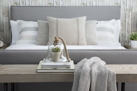 Room, Textile, Wall, Furniture, White, Interior design, Couch, Pillow, Throw pillow, Cushion,