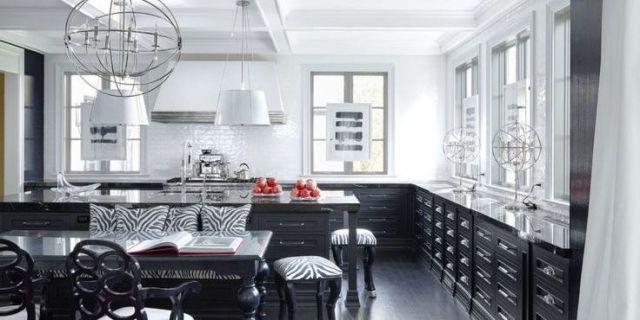 20 Black And White Kitchen Design Decor Ideas