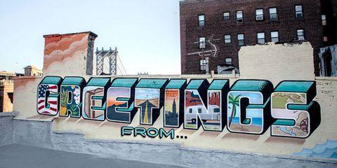 Graffiti, Paint, Street art, Art, Azure, Tints and shades, Mural, Artwork, Aqua, Teal,