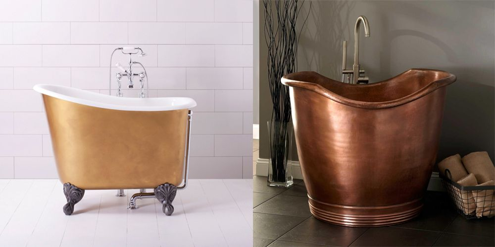 9 small bathtubs tiny bath tub sizes elledecorcom