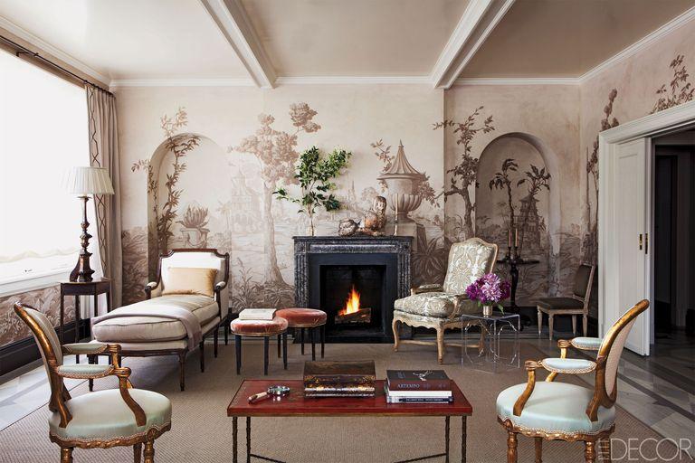 21 unique fireplace mantel ideas modern fireplace designs - Modern french living room decor ideas ...