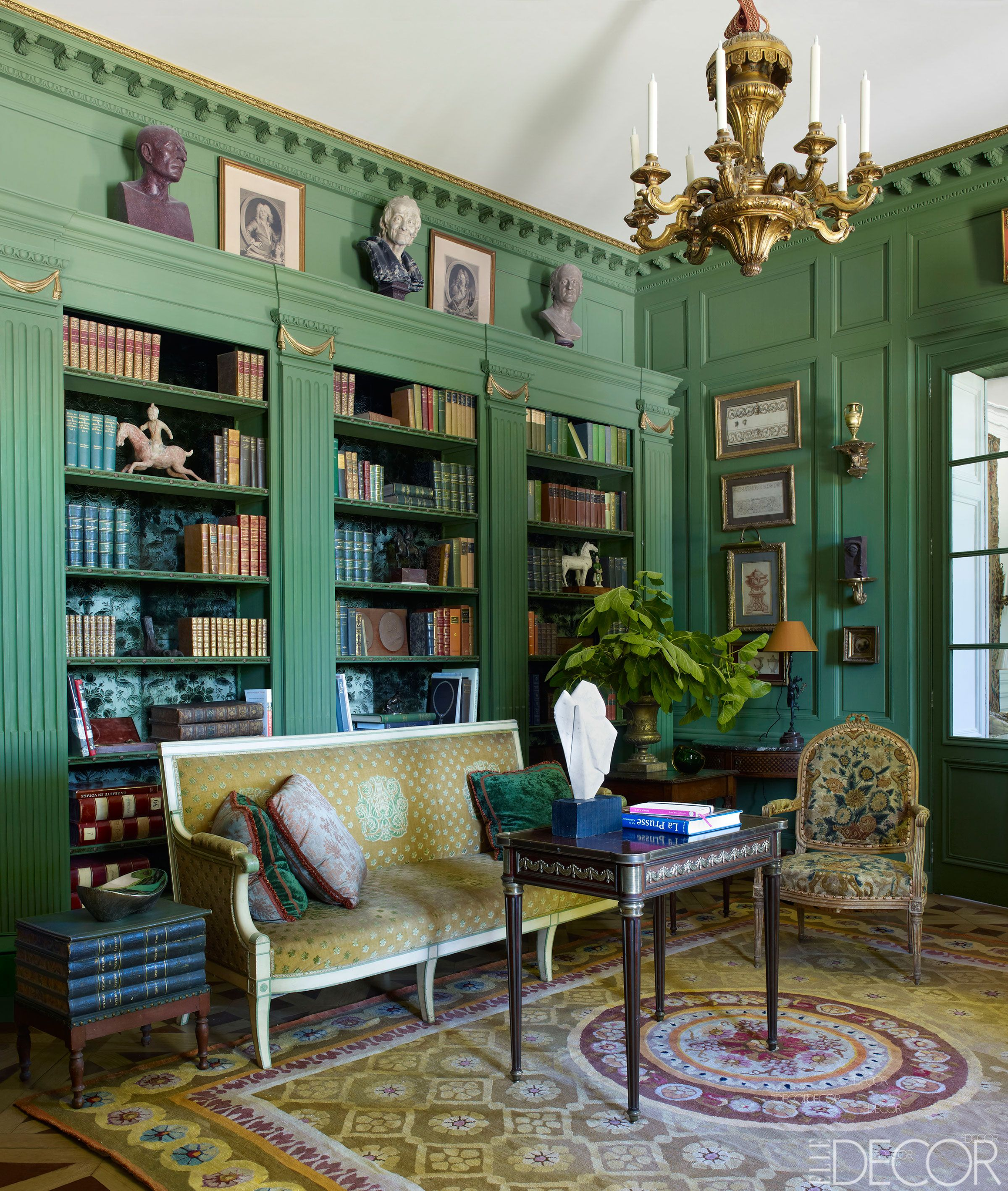 Farrow And Ball Bordeaux 18th century french estate renovation - coorengel and