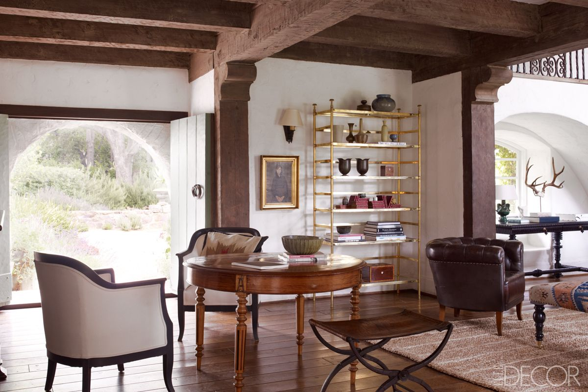 reese witherspoons ojai house kristen buckingham interiors - Ranch Style Decor